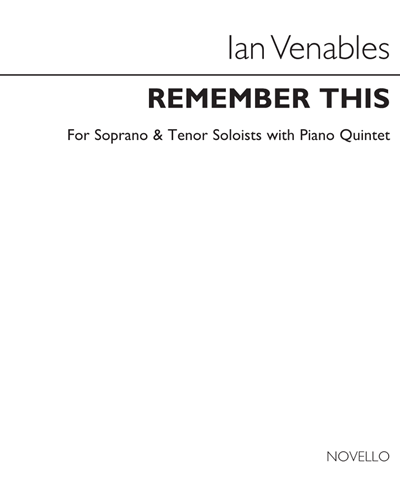 Remember This, Op. 40