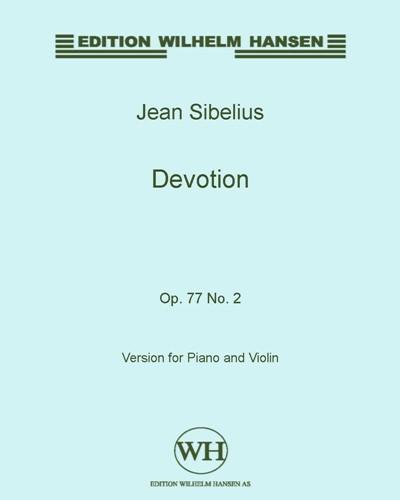Devotion, Op. 77 No. 2