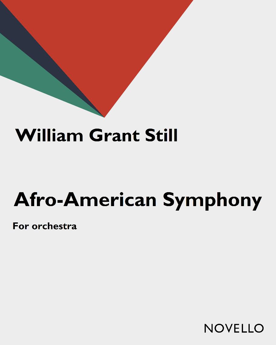 Symphonies, no. 1 Afro-American symphony Cover Art