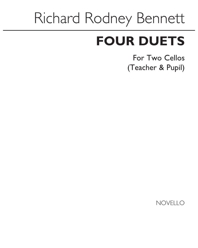 Four Duets for Two Cellos