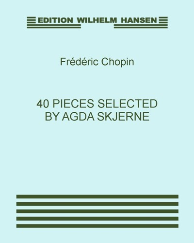 40 Pieces Selected by Agda Skjerne