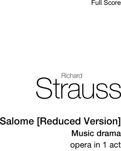 Salome [Reduced Version]