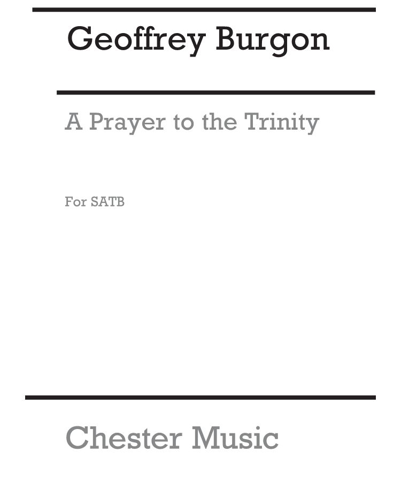 A Prayer to the Trinity