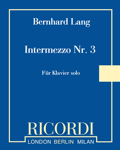 Intermezzo Nr. 3