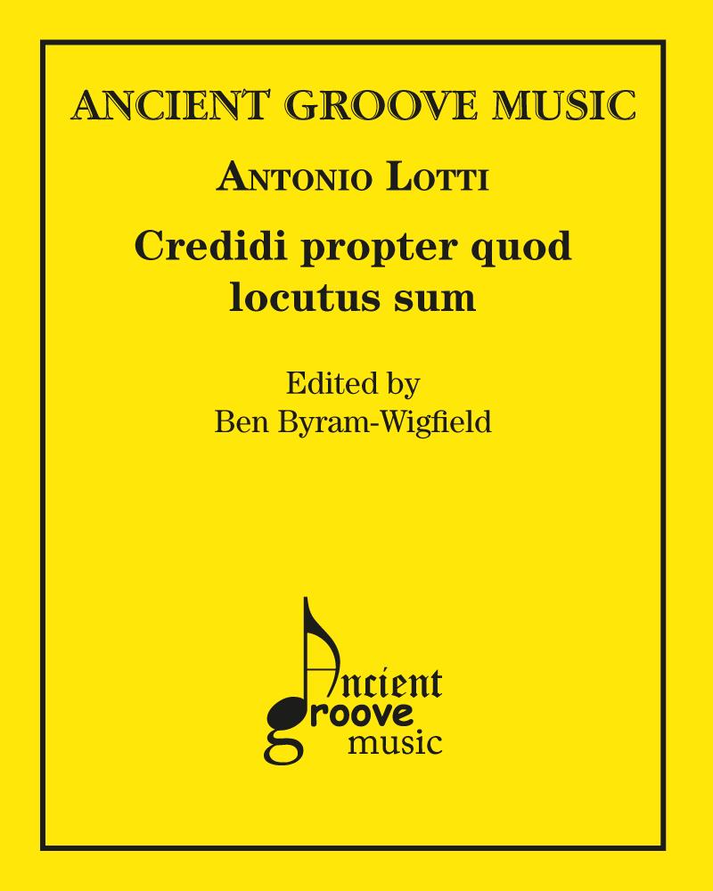 Credidi propter quod locutus sum