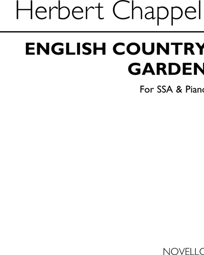 English Country Garden for SSA and Piano Op. 102a
