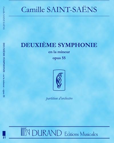 Deuxième Symphonie en La mineur Op. 55 - Pour orchestre