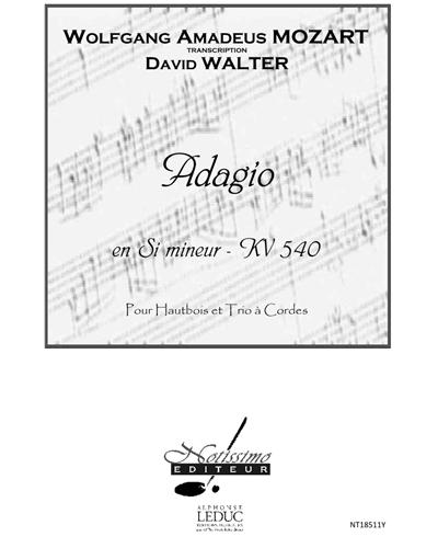 Adagio en Si mineur, KV 540