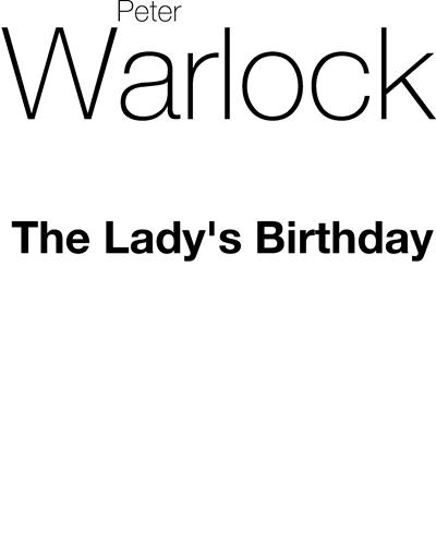 The Lady's Birthday
