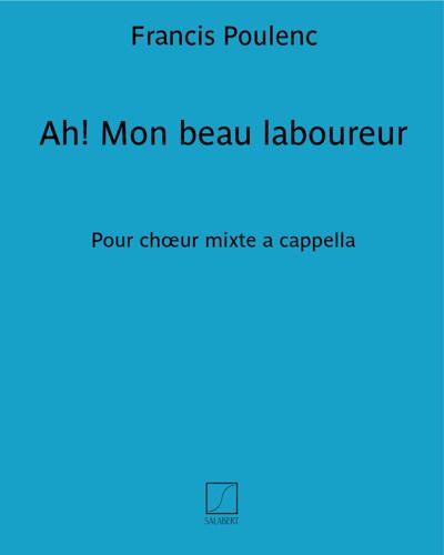 """Ah! Mon beau laboureur (n. 7 des """"Chansons françaises"""")"""