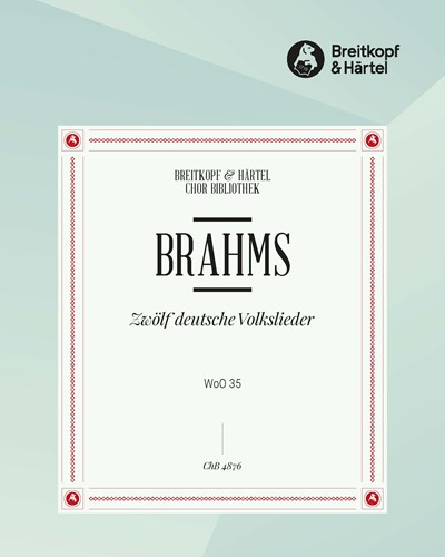 12 deutsche Volkslieder WoO 35