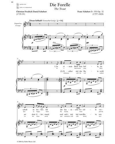Die Forelle (D. 550 Op.32)