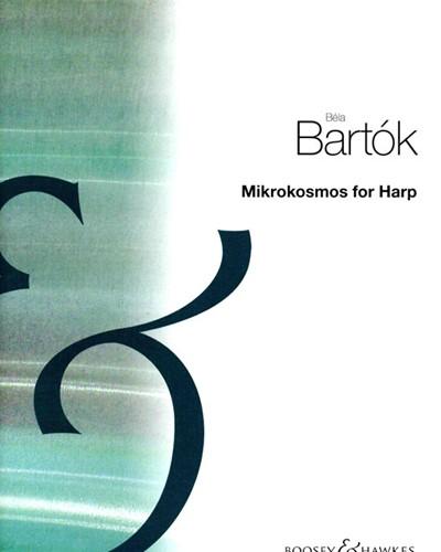 Mikrokosmos for Harp