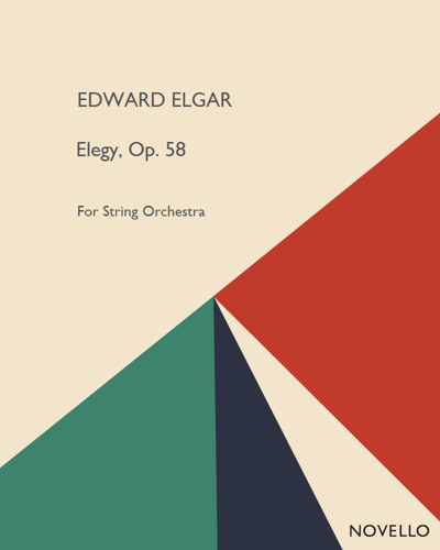 Elegy, Op. 58