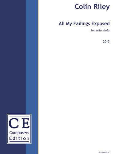 All My Failings Exposed