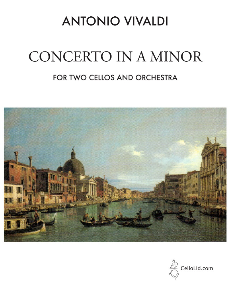 Concerto in A minor for 2 Cellos and Orchestra Op. 3 No. 8