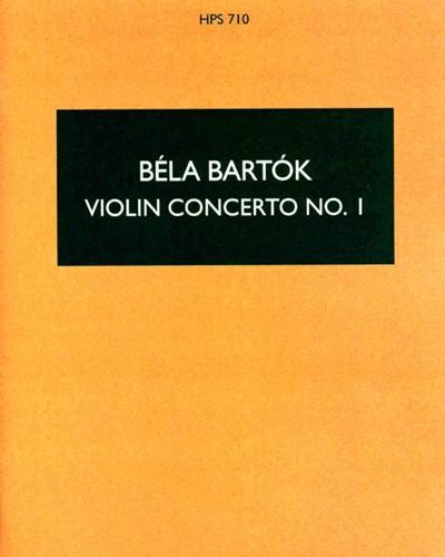 Violin Concerto No. 1, op. posth.