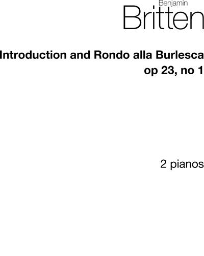 Introduction and Rondo alla Burlesca, op. 23/1