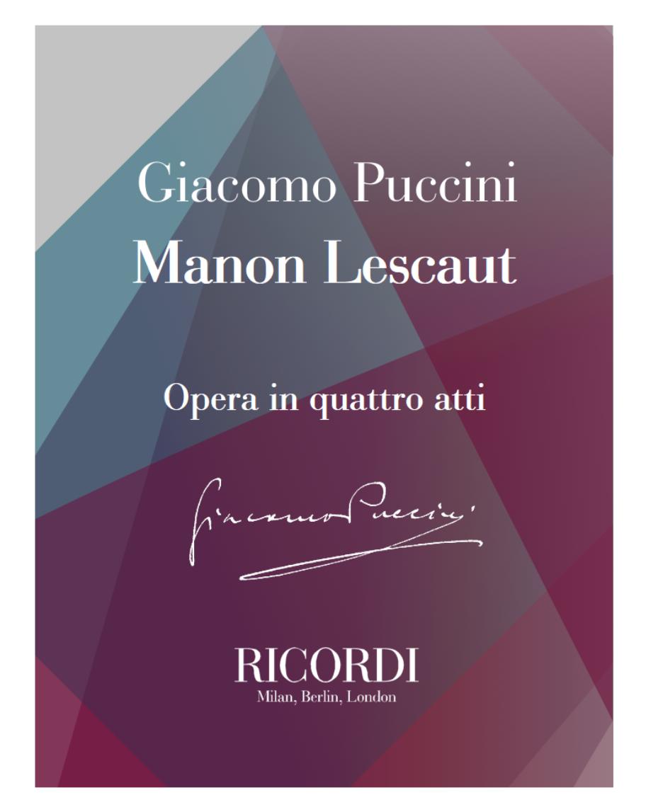 Manon Lescaut [Traditional]