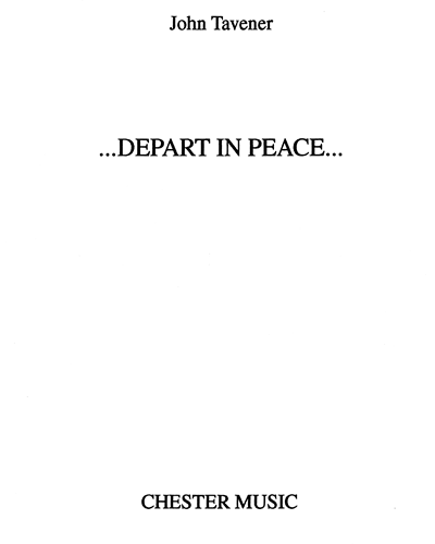 ...Depart in Peace...