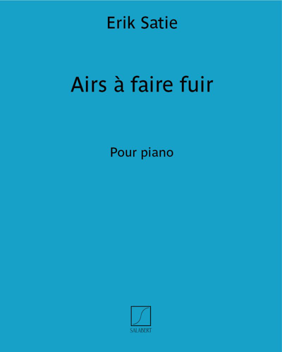 """Airs à faire fuir (extrait n. 1 des """"Pièces froides"""")"""