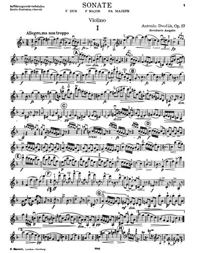 Sonata in F major, op. 57