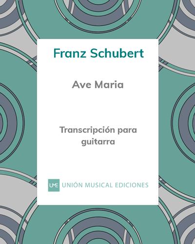 Ave Maria - Transcripción para guitarra