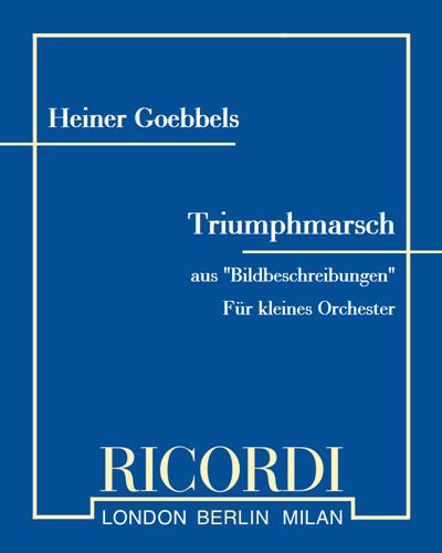 """Triumphmarsch (aus """"Bildbeschreibungen"""")"""