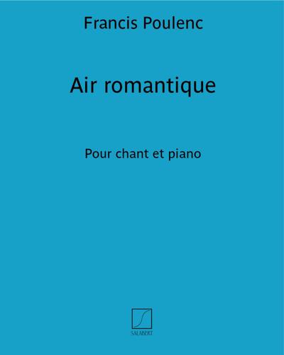 Air romantique