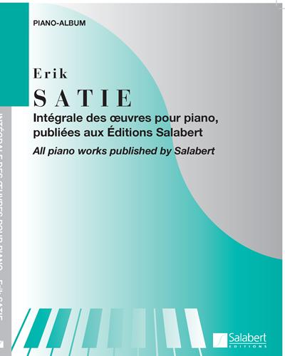 Intégrale des œuvres pour piano, publiées aux Éditions Salabert