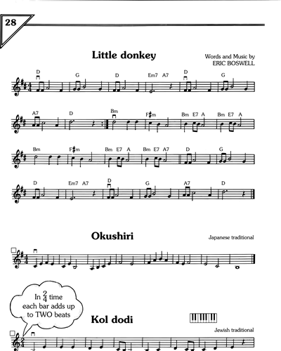 Little Donkey/Okushiri/Kol Dodi