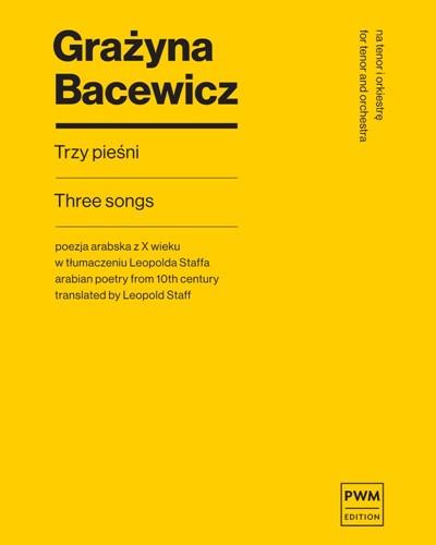 Three Songs