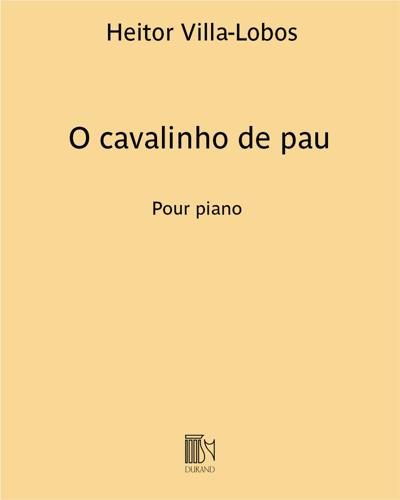 """O cavalinho de pau (extrait n. 5 de """"A próle do bébé n. 2"""")"""
