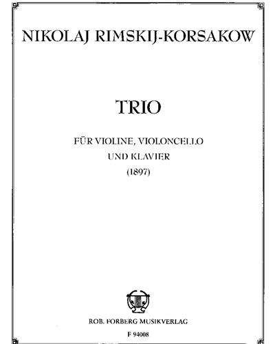 Trio für Violine, Violoncello und Klavier