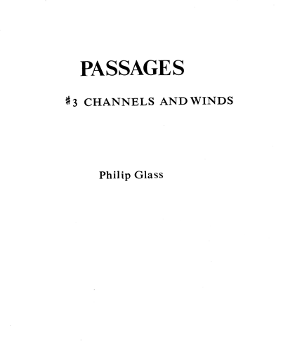 Channels and Winds