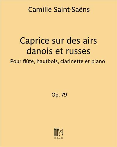 Caprice sur des airs danois et russes Op. 79