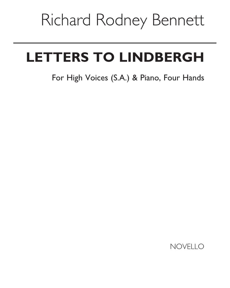 Letters to Lindbergh