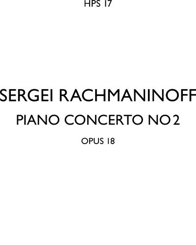 Piano Concerto No. 2 in C minor, op. 18