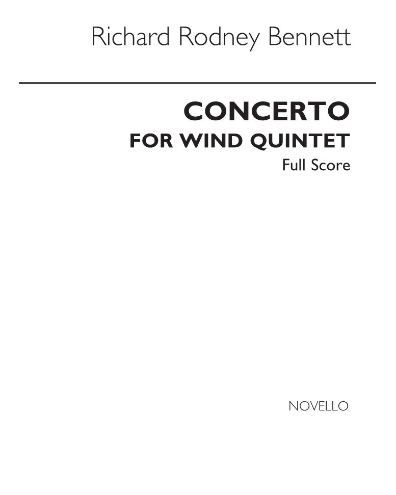 Concerto for Wind Quintet