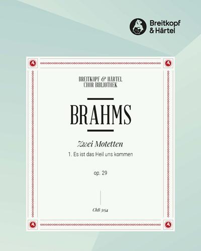 2 Motetten op. 29 aus Psalm 51 - Nr. 1