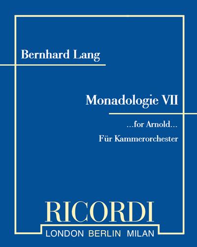 Monadologie VII