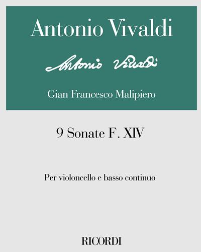 9 Sonate F. XIV