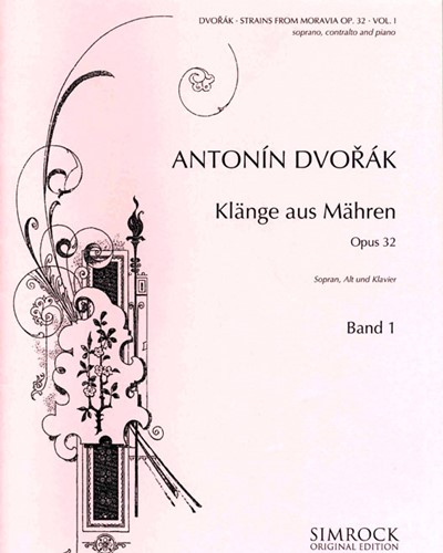 Strains from Moravia, op. 32