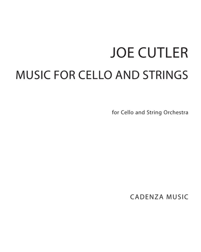 Music for Cello and Strings
