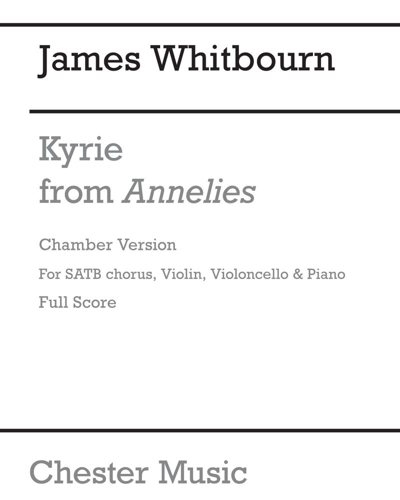 """Kyrie (from """"Annelies"""")"""