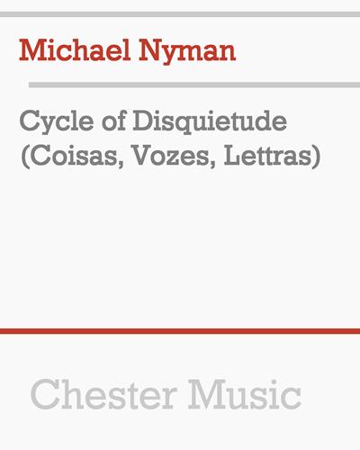 Cycle of Disquietude (Coisas, Vozes, Lettras)