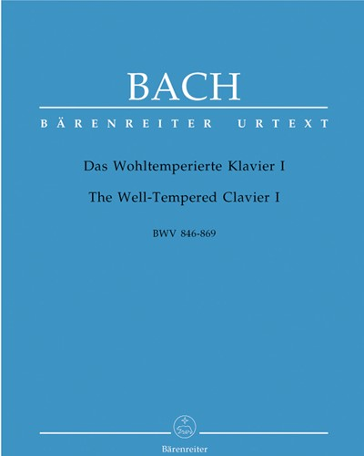 The Well-Tempered Clavier I BWV 846-869