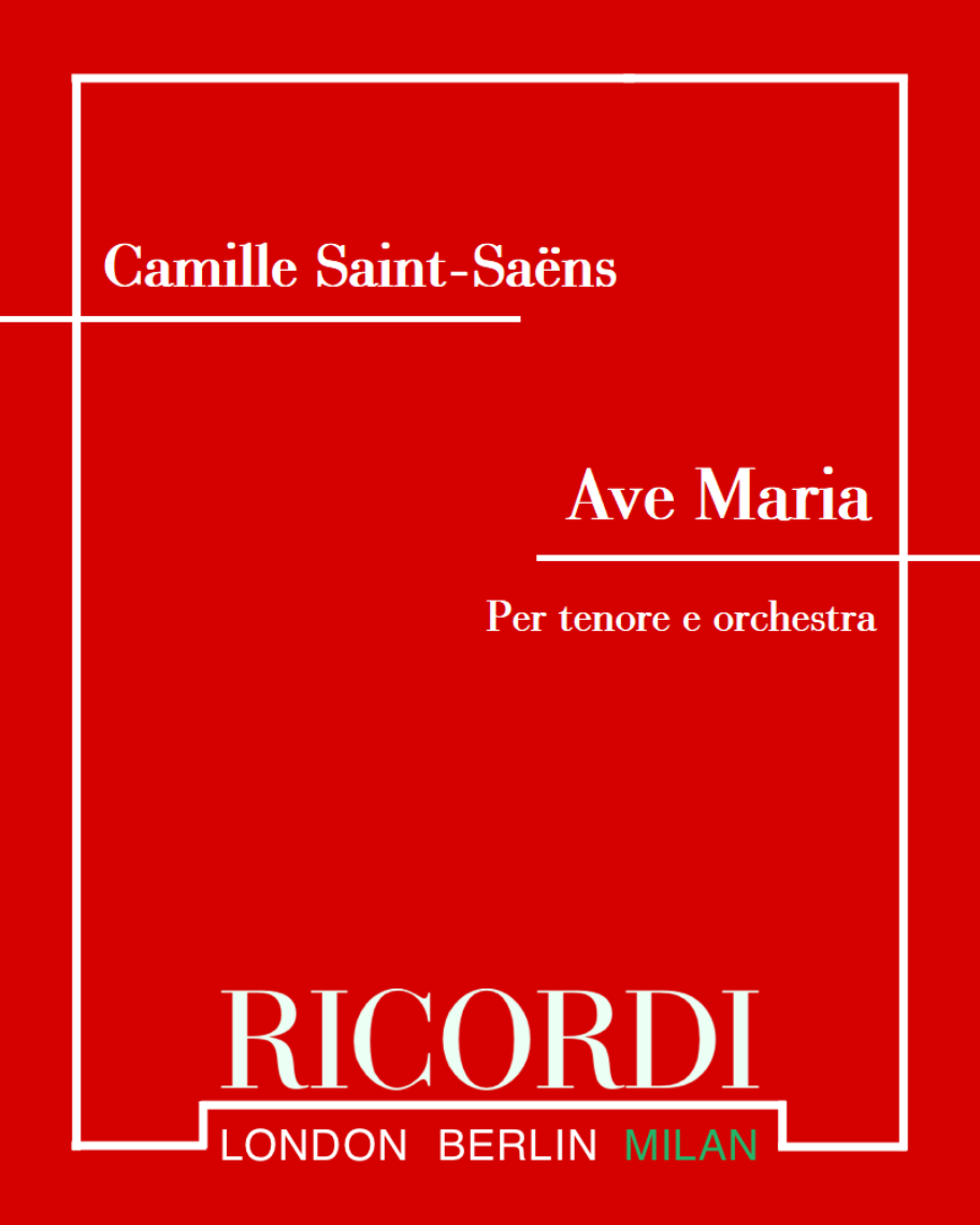 Ave Maria - Per tenore e orchestra