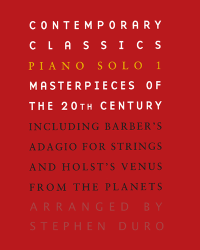 Contemporary Classics: Piano Solo 1