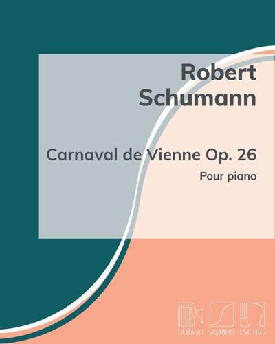 Robert Schumann: Carnaval de Vienne Op  26 sheet music | nkoda